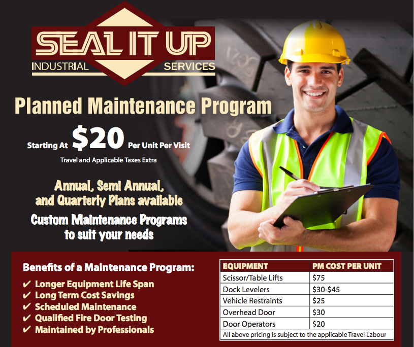 Preventative Maintenance Promo