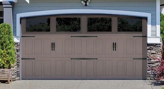 Designer Steel Garage Door 9510 Seal It Up