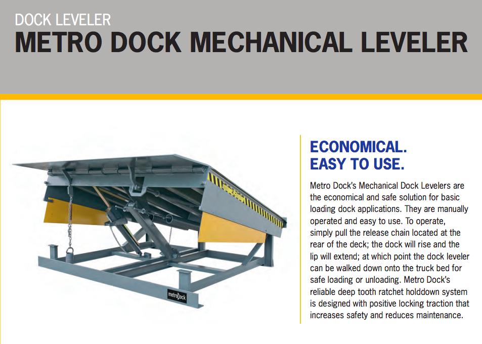 Mechanical Leveler